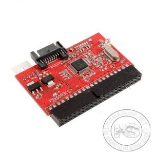 """Преход за хард диск, IDE към SATA интерфейс (40pin IDE, 3.5"""")"""