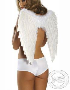 Ангелски крила - 65 х 45 см (бели)