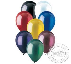 Балони - кръгли (20 бр в опаковка - разноцветни)