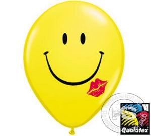 Балони - кръгли с усмивка (10 бр в опаковка)
