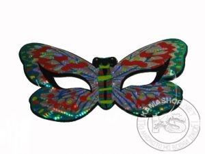 "Маска домино - тип ""Пеперуда"" (холограмно)"