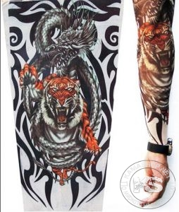 Татуировка - ръкав (дракон)