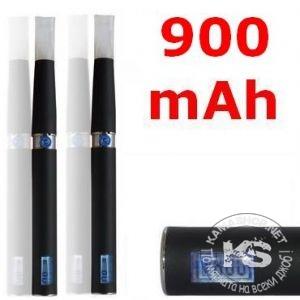 Луксозна електронна цигара eGo-F (L) с LCD дисплей - 900mAh (2 бр в комплект)