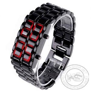 Часовник за ръка с LED дисплей - LAVA Style - метален