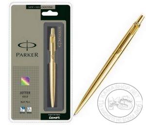 Химикал Parker Jotter Gold GT (цвят златен)