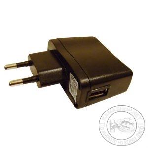 Зарядно на 220V с USB (изход 5V 500mA)