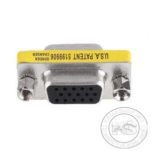 Преход-конвертор VGA женско -> VGA женско (15 пина)