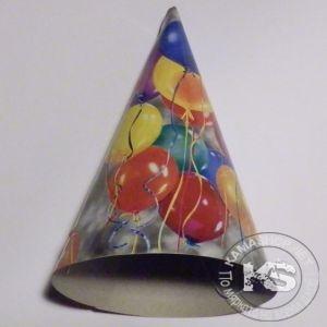 Парти шапка  (разноцветни)