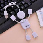 Разклонител USB (1 към 4 порта)