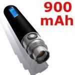 Батерия за електронна цигара eGo-F (L) с LCD дисплей (3.7V 900 mAh)