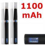 Луксозна електронна цигара eGo-L с LCD дисплей - 1100mAh (2 бр в комплект)