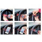 Стойка за GSM/GPS за волан на автомобил (55-80мм)