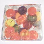 Парти салфетки - 16 бр в пакет (разноцветни)